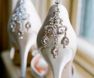 diamonds, girly, and pumps image