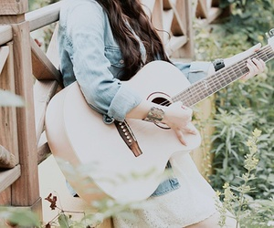 guitar and pretty image