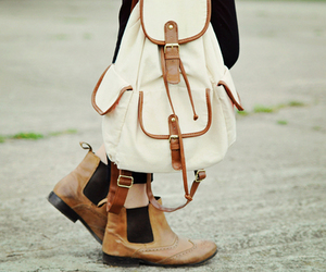 backpack, boots, and photography image