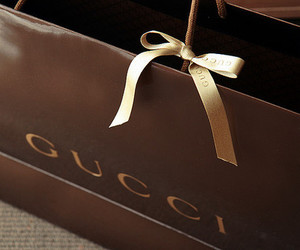 gucci, bag, and shopping image