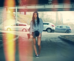 beanie, photography, and vans image