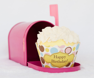 cupcake, happy birthday, and birthday image