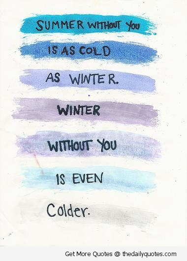 Summer Without You | The Daily Quotes on We Heart It