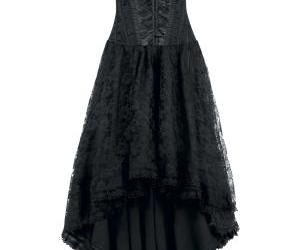 black, dress, and gothic image