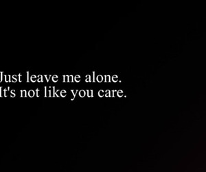 alone, forever, and nobody cares image