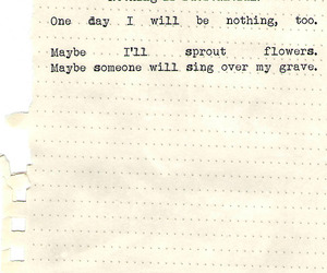 quote, flowers, and poem image