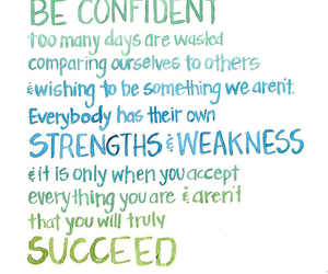 quote and confident image