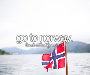 girl, norway, and travel image