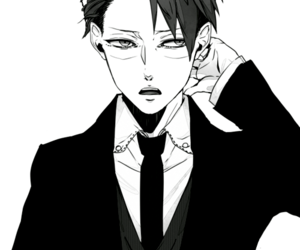 handsome, levi, and attack on titan image