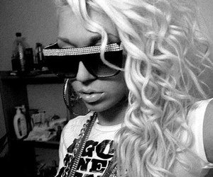 hair, swag, and blonde image
