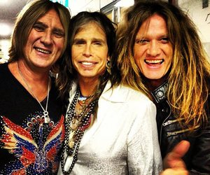 aerosmith, hair, and steven tyler image