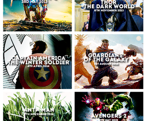 Marvel, captain america, and thor image