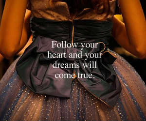 Dream, heart, and dress image