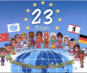 childeren, april 23, and 23 nisan image