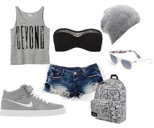 outfit, clothes, and shoes image