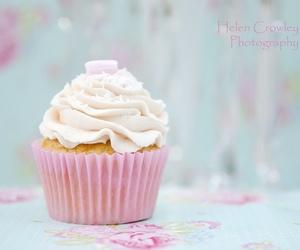 food, pastel, and cupcake image