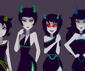 homestuck, vriska, and nepeta image
