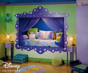children's rooms, tinkerbell, and disney-themed image