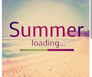 april, beach, and loading image