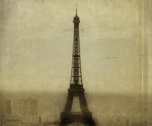 paris, eiffel, and eiffel tower image