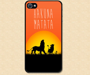 iphone and lion king image