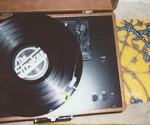 music, the strokes, and vintage image