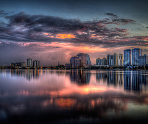 2009, cityscape, and clouds image