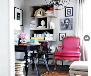 decor, design, and pink image