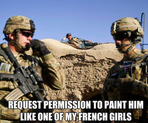 french, soldier, and funny image