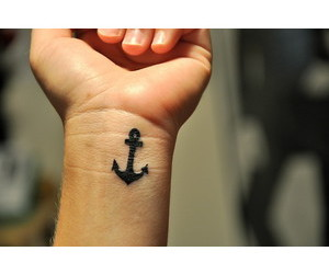 anchor, tattoo, and cute image
