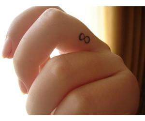 infinite, tattoo, and infinity image