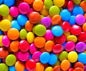 chocolate, colors, and smarties image