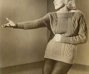 knit and Marilyn Monroe image