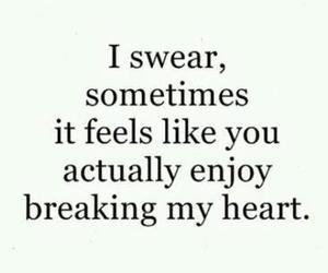 quotes, heart, and sad image