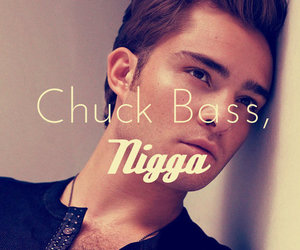 chuck bass and love image