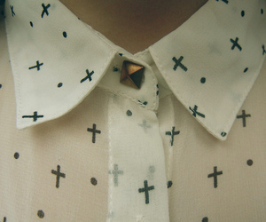 fashion, cross, and style image