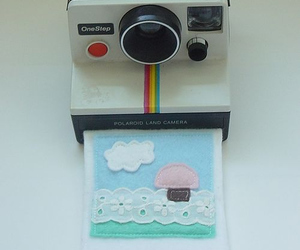 camera, polaroid, and cute image