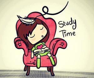 study, sleep, and school image