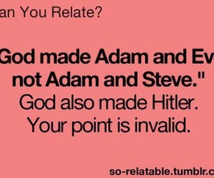 adam, eve, and god image