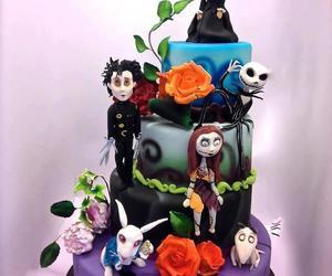 cake and tim burton image