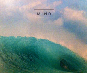 mind, ocean, and wave image