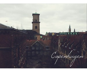 city, photograpgy, and copenhagen image