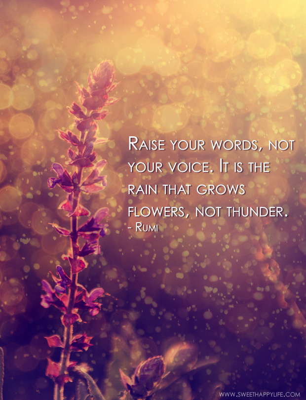 Raise Your Words Not Your Voice Inspirational Parenting Quotes
