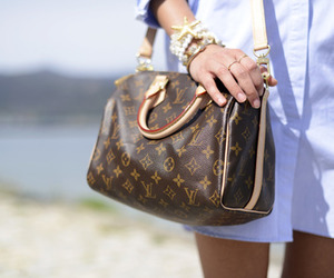 bag, Louis Vuitton, and girl image