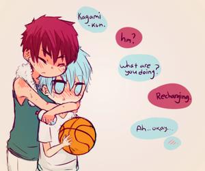 anime, basket, and yaoi image