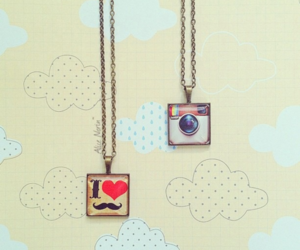 instagram and necklace image