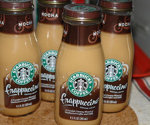 frappuccino and starbucks image