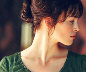 keira knightley, pride and prejudice, and elizabeth bennet image