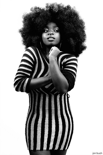 African, Afro, and natural hair image