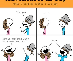 funny, gay, and lol image
